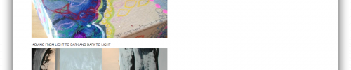 portfolio overview of Damini Celebre's artwork