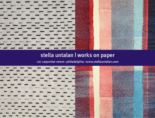 Stella Untalan open studio October 25+26th