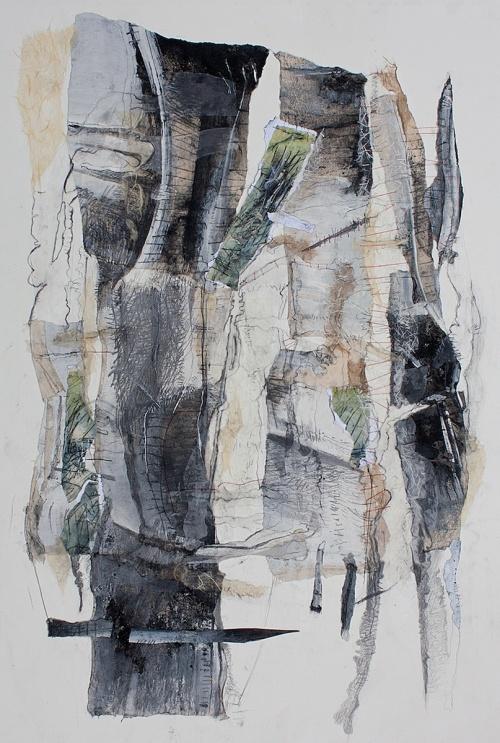 abstract, art, Broken Promise by Arlene Gale Milgram