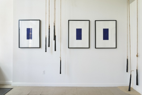 Three Sounding drawings by Stella Untalan, Drawings