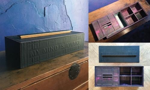 Box Art | My Mind Is Awake, PD Packard