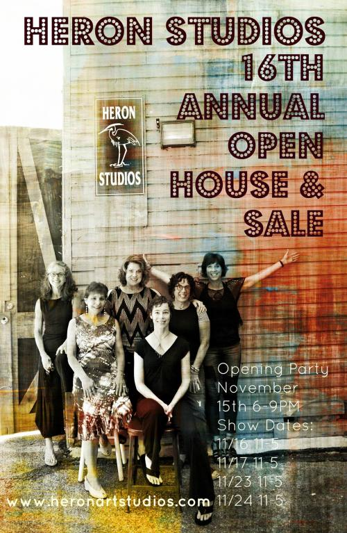 Heron Studios 16th Annual Open House + Holiday Sale