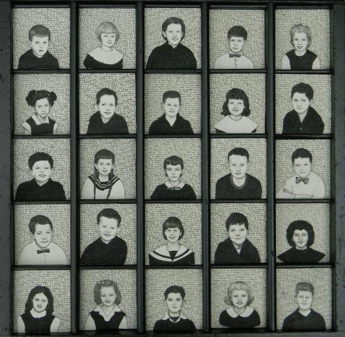 25 third graders1956 by Len Cowgill