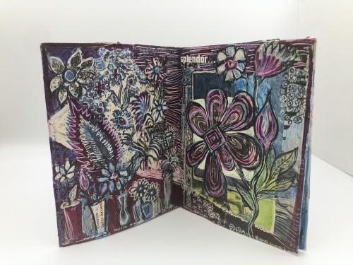 Alison Stein -  Splendor Subterranean -Spread1