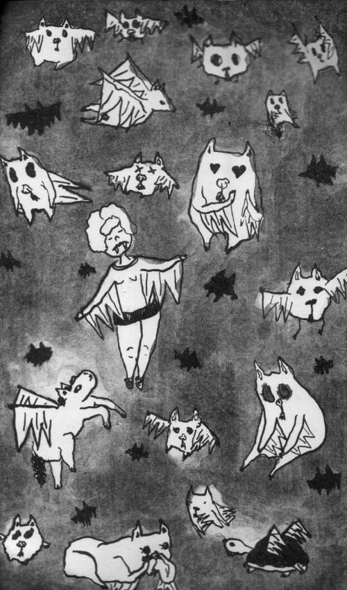 Dream Bats by Elinor Breidenthal
