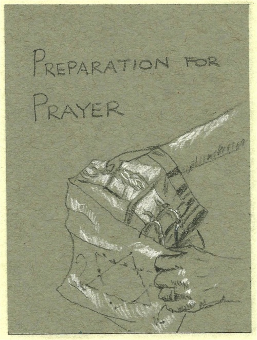 prayer, judaism, pencil drawing