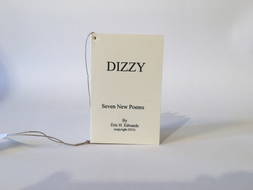 Dizzy poetry book Eric Edwards