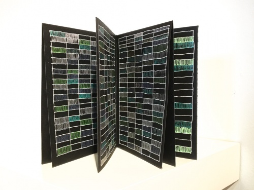 Color Coded 02 an artist book by Stella Untalan
