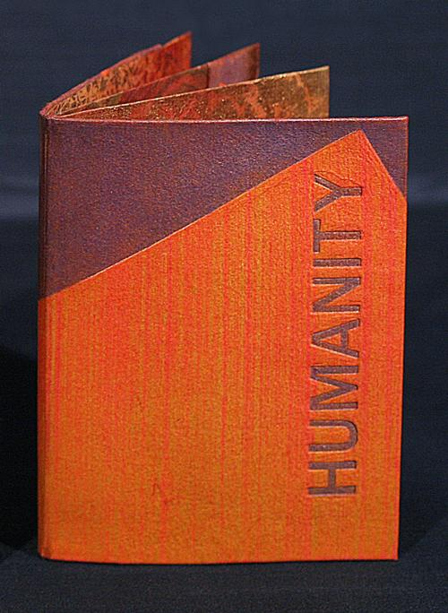 PD Packard's Humanity, RiTUAL: single-sheet book show