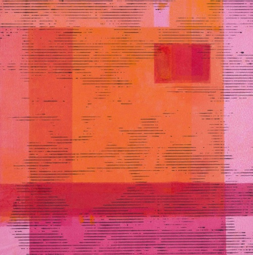 Decoded Square 4 by Terri Fridkin