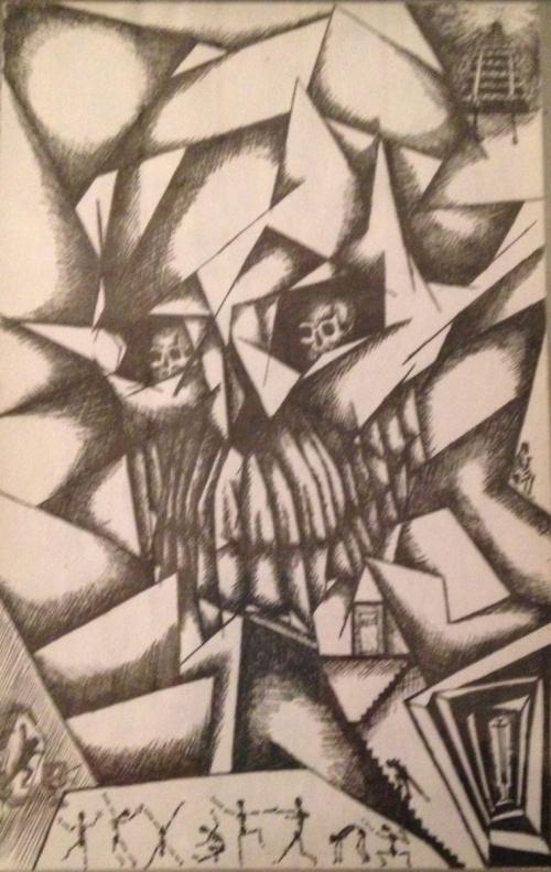 drawing by Robert Magana
