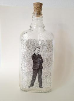 Bottled Drawing : Len Cowgill