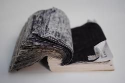 Image of a black book by Ruth Scott Blackson