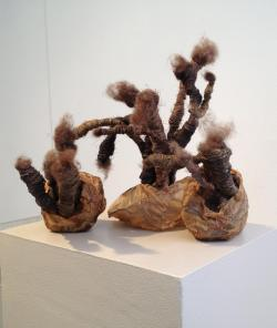 Amy Ralston : Recurring, sculpture, art, exhibition, fiber