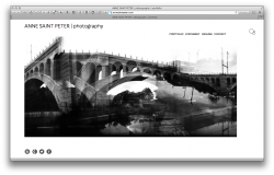welcome screen design style Panno for artists websites