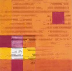 Decoded Square 5 by Terri Fridkin