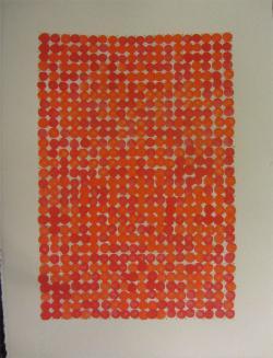 Red (After Derek Jarman) by Gerard Brown