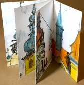 Prague, urban sketches, carnet de voyage