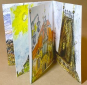 Prague, urban sketches, carnet de voyage