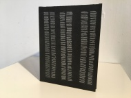Stella Untalan : Dashing toward the Dots, a single sheet book in Ritual 2017