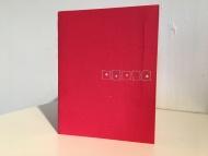 Stella Untalan : Tiny Boxes, a single sheet book in Ritual 2017