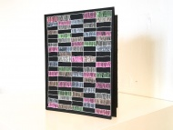 Color Coded an artist book by Stella Untalan