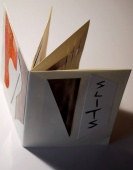 A book about what is hidden and what is seen in cut paper and weaving