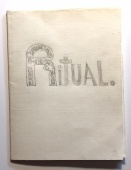 single-sheet book: drawings of rituals