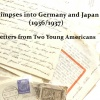 Germany, Japan, 1930s, artist book, Susan Viguers, zine, letters