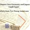 Germany, Japan, 1930s, artist book, Susan Viguers, zine, letters