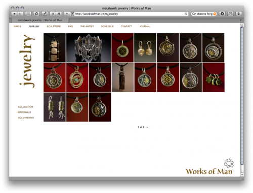 gallery view - works of man