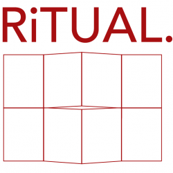 Ritual single-sheet book show by heavy bubble websites for artists